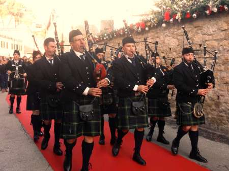 Bazzano Castle Pipe Band