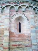 Ginestreto, Romanesque church - a detail