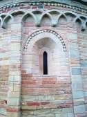 Ginestreto, Romanesque church - a detail