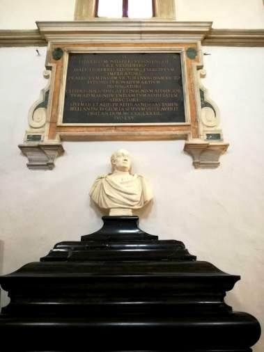 sarcophagus of Federico da Montefeltro